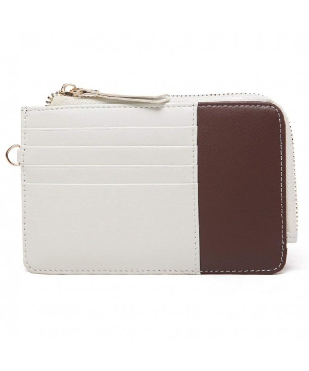 Zipper Wallet Womens Leather Holder