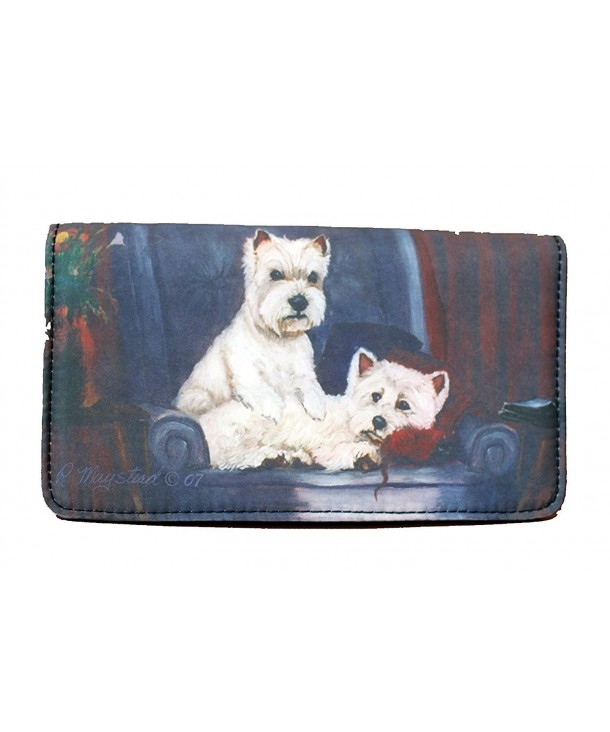 Highland White Terrier wallet Maystead