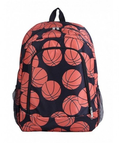 NBN 32 Backpack Basketball Pattern Design