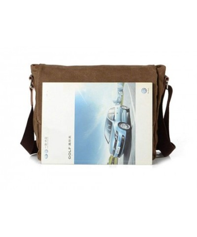 Bronze Times Military Canvas Messenger
