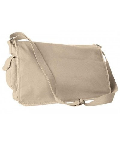 Authentic Pigment Pigment Dyed Raw Edge Messenger