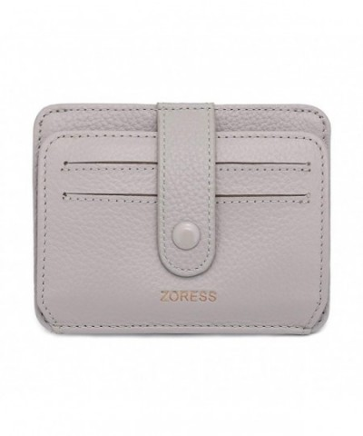 ZORESS Womens Leather Blocking Credit