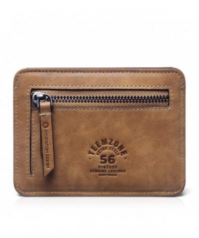 Teemzone Leather Wallet Pocket Credit