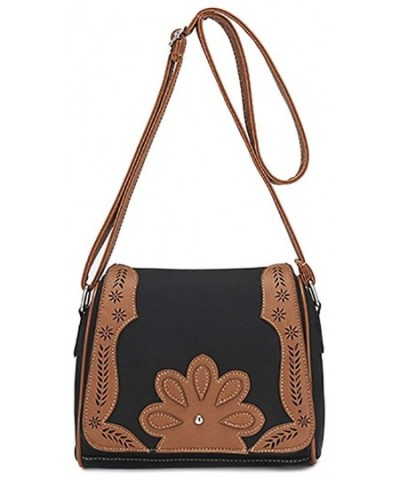 Womens Hollow Shoulder Crossbody Messenger