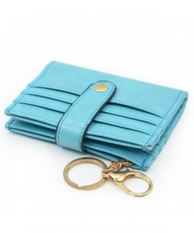 Womens Holder Bifold Leather Ladies