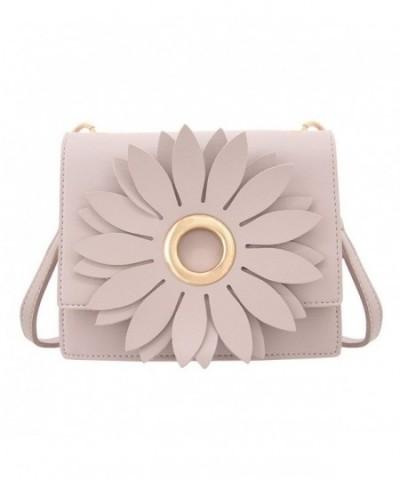 Naimo Elegant Flower Design Shoulder