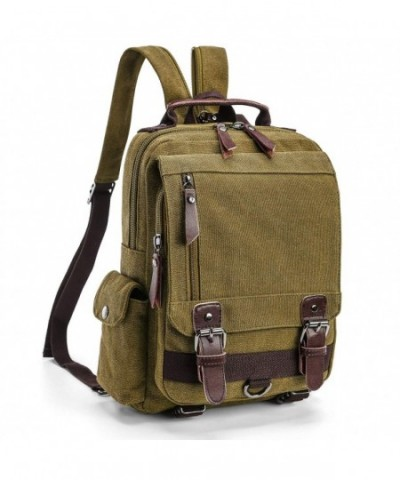 Backpack Purse Women F color Canvas