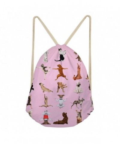 Instantarts Drawstring Backpacks Sackpack Gymsack