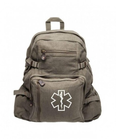Medical Army Heavyweight Canvas Backpack