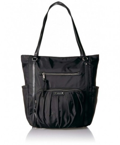 Utiliti Pleated Pocket Tote Black