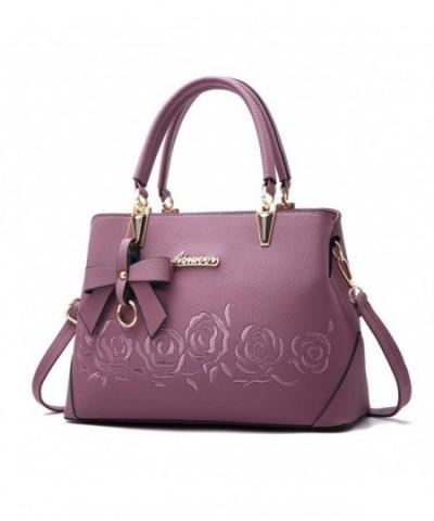 Mogor Leather Handbag Shoulder Embroidery