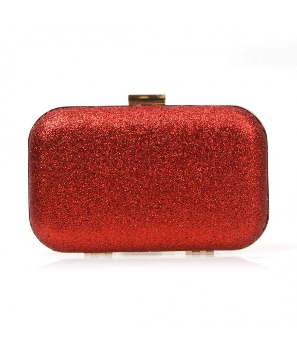 Iridescent Glitter Covered Fashion Handbag