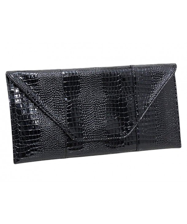 BBwraps Oversized Patent Leather Clutch
