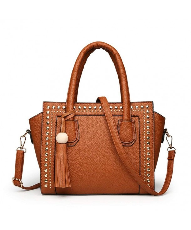PERHAPS Leather Handbag Fashion Shoulder