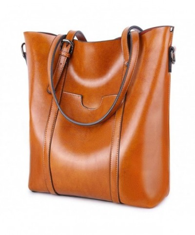 YALUXE Womens Vintage Leather Shoulder