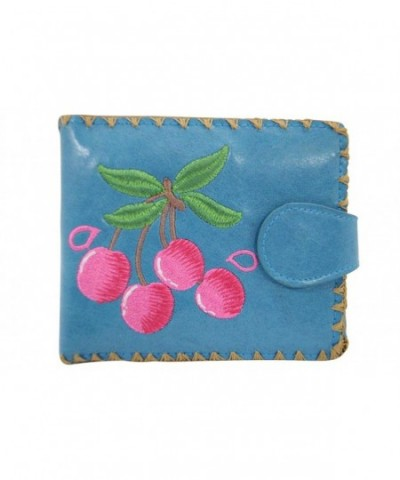 Lavishy Cherry Love Leather Embroidered