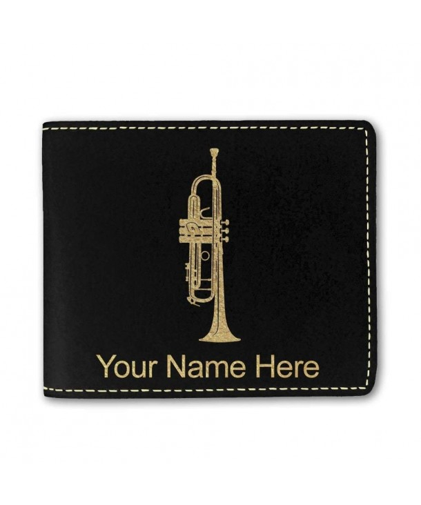 Leather Trumpet Personalized Engraving Included