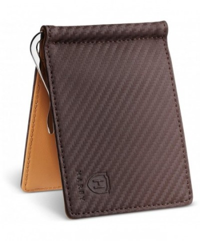 Harby Money Wallet Brown Yellow
