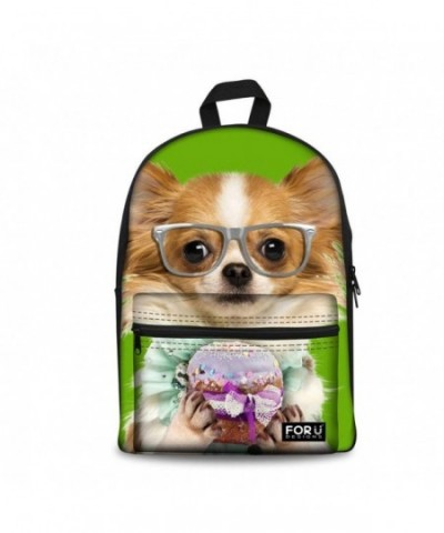 DESIGNS Animal Casual Canvas Backpack