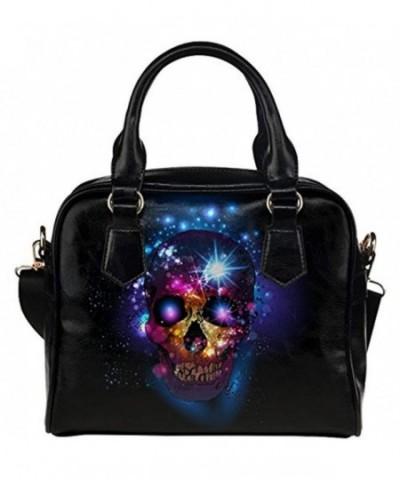 InterestPrint Womens Leather Shoulder Handbag