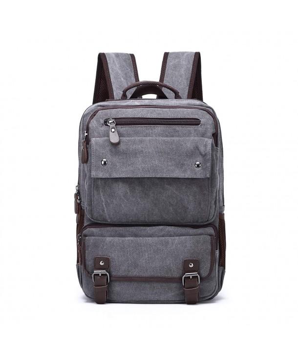 Dishangsha Vintage Backpack Leather Rucksack