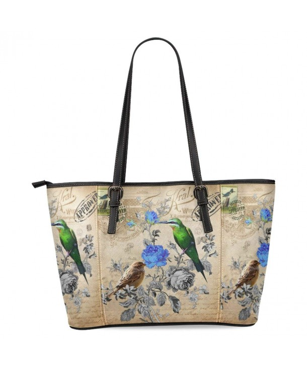 InterestPrint Vintage Leather Shoulder Handbags