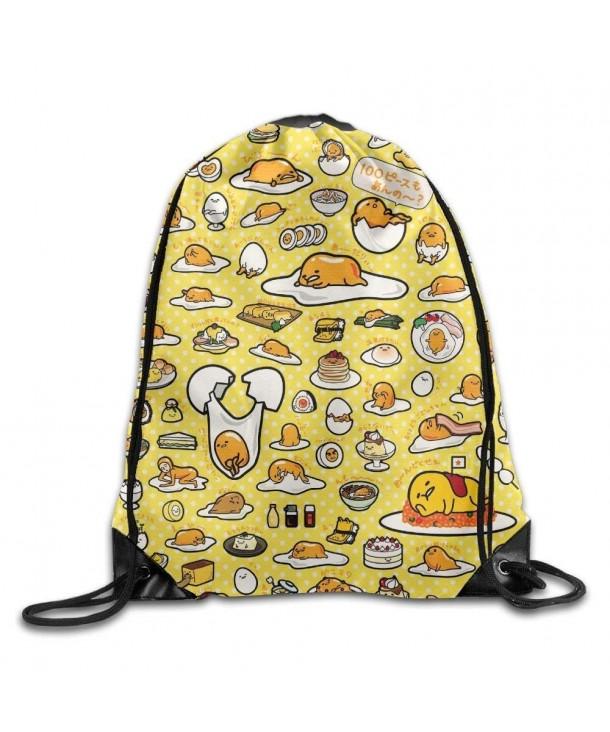 BVILL Gudetama Drawstring Shoulder Backpack