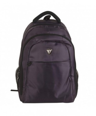 California Pak Backpack Compartment Eggplant