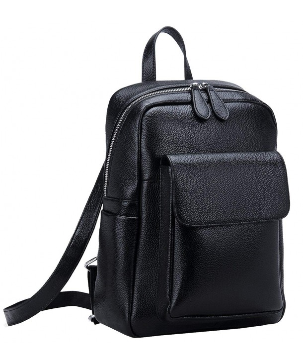 Clearance Womens Leather Backpack Daypack