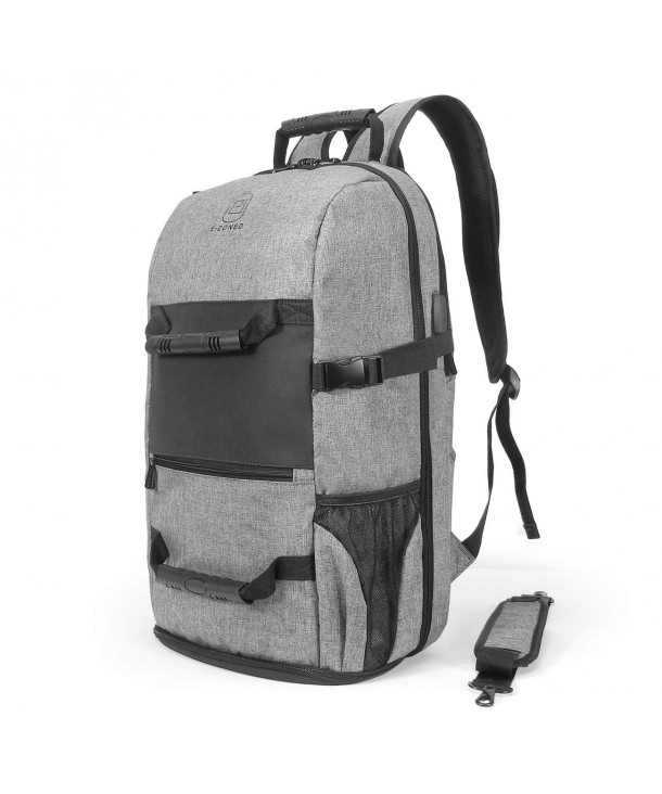 Backpack Capacity Charging Compartment Traveling