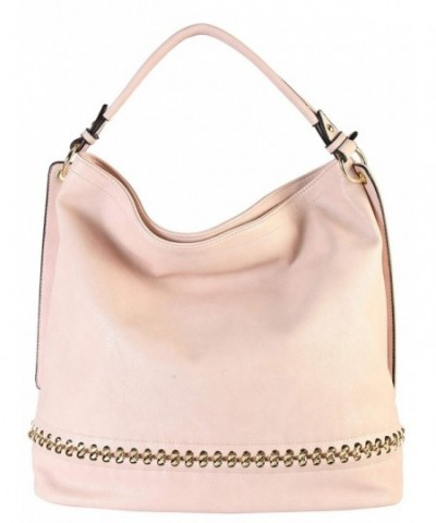 Rimen Leather Handbag Accented WY 2671