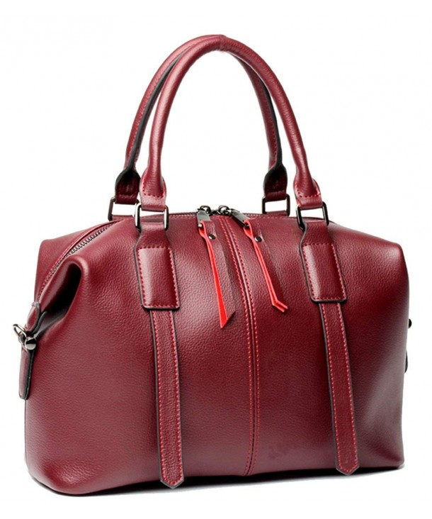 Leather Handbags Shoulder Handbag Satchel