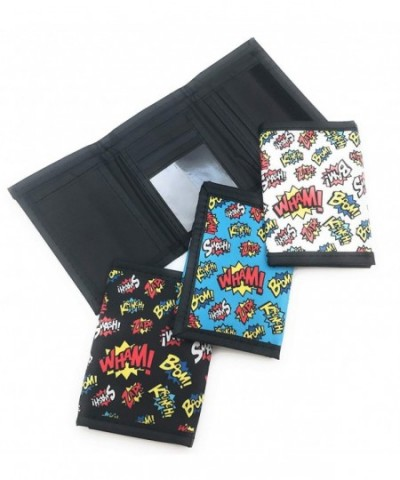 Oojami Superhero Tri Fold Wallets Pack