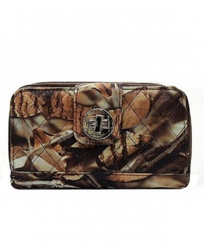 BNB Quilted Western Trifold Camouflage