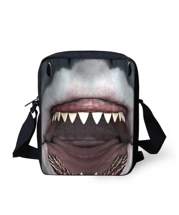 CHAQLIN Shark Messenger Animal Satchel