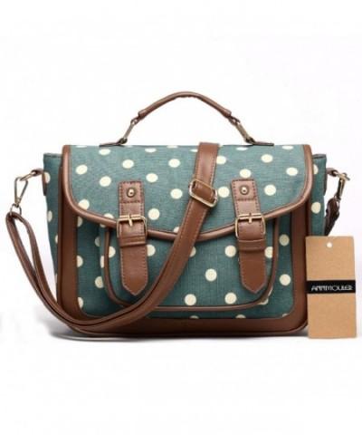 Handbags Vintage Satchel Patchwork Shoulder