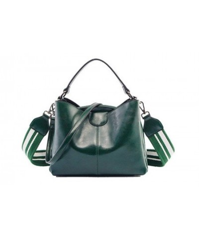 W touch Genuine Leather Shoulder Crossbody