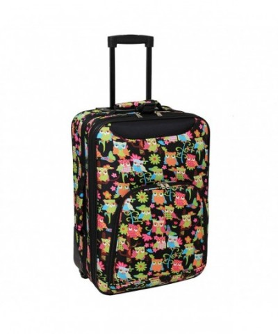 World Traveler Rolling Luggage Suitcase