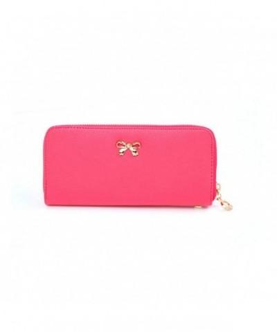 Coromose Bowknot Wearable Wallet Handbag