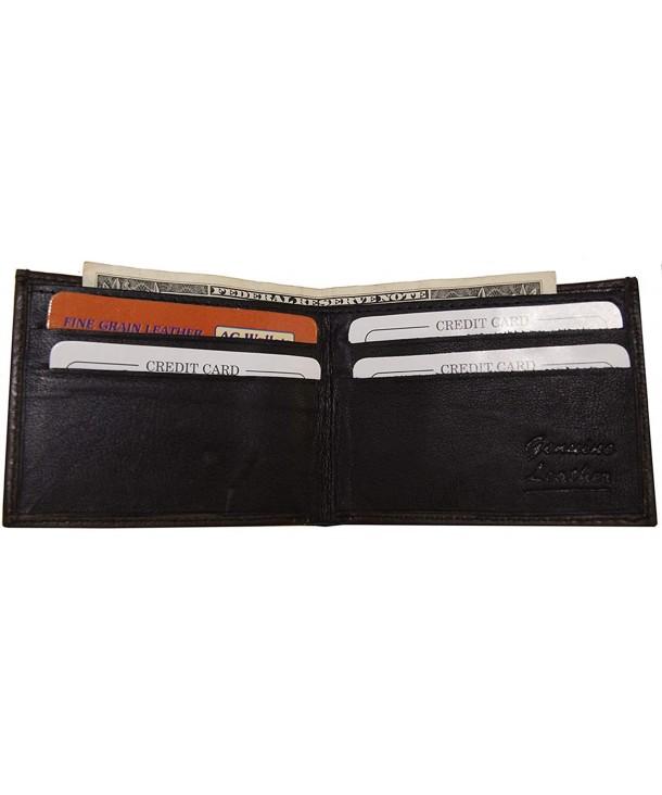 Wallets Genuine Leather Bifold Wallet