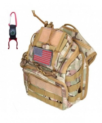 Openuye Military Outdoors Crossbody Camouflage
