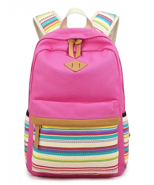 Backpack Canvas Middle School Rucksack