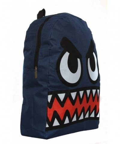 Growling Monsters Classic Backpack Navy