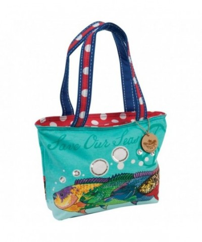 Fish Save Seas Medium Tote