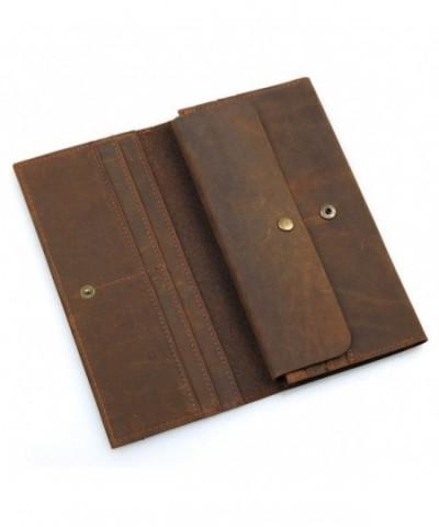 HASFINE Vintage Leather Passport Genuine