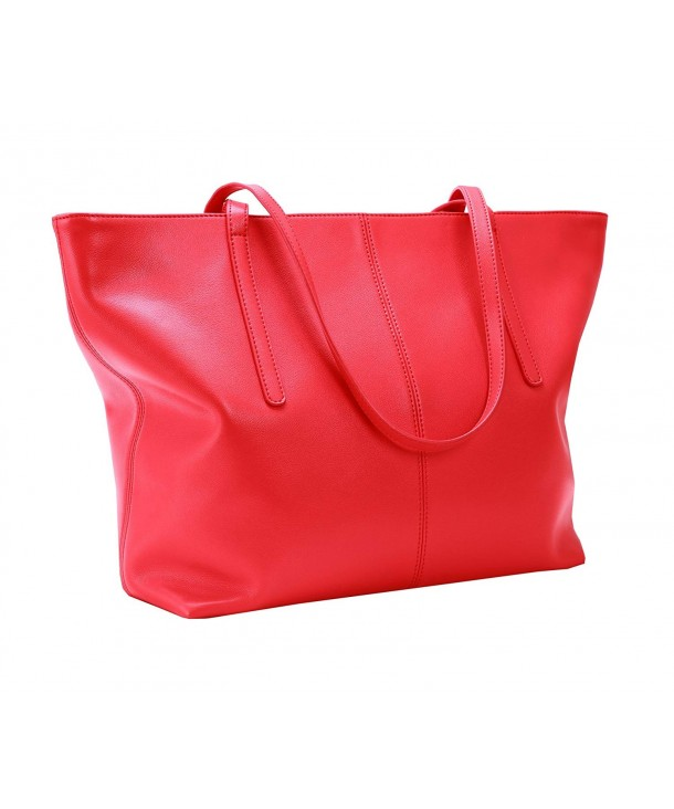 Womens Leather Handbags Shoulder Red R044