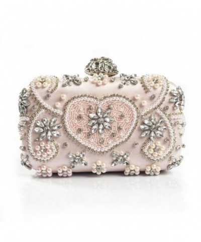 Crystal Evening Handmade Rhinestones Clutches