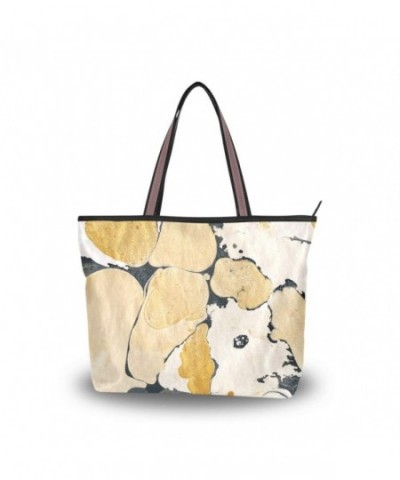 JSTEL Handle Shoulder Abstract Handbag