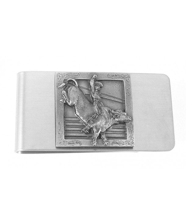 Large Money Clip Bull Rider