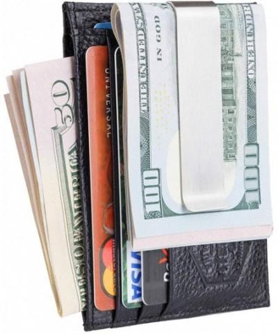 Mens Money Clip Wallet Genuine